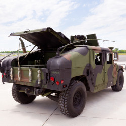 Military Vehicle - Humvee Truck
